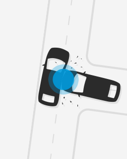 Side-impacts at intersections